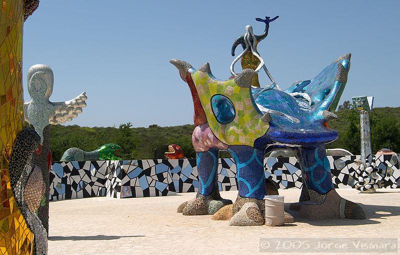 Queen Califia 39 S Magical Circle Niki De Saint Phalle Sculpture Garden In Escondido